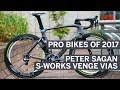Peter Sagan's Specialized S-Works Venge Vias | Pro Bikes of 2017 | Cycling Weekly