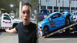 THEY TOWED MY CAR!! :(