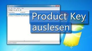 Anleitung: Windows 7 Product Key / Produktschlüssel auslesen (Deutsch)