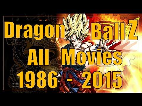 Dragon Ball Z All Movies List  1986-2015
