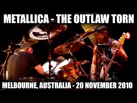 Metallica - The Outlaw Torn (HD) Melbourne, Australia. 20th November 2010