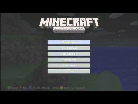 Minecraft Xbox 360 Edition Hud Glitch No Hand