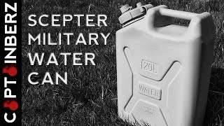 Scepter Military Water Can: Emergency/Disaster/SHTF Must Have