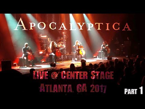Apocalyptica Live Atlanta 2017 (Part 1)