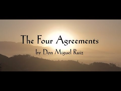 The Four Agreements Introduction Youtube
