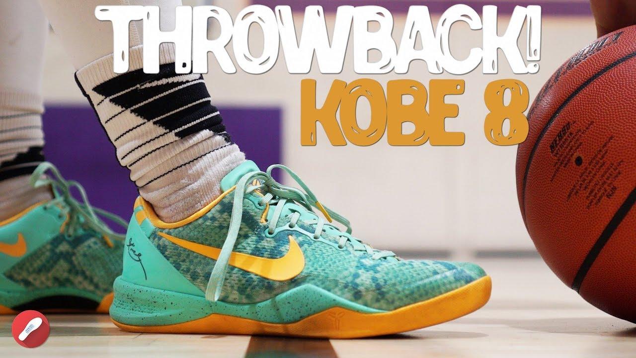 6aefe69914b Throwback Review! Nike Kobe 8 Performance Review! - YouTube