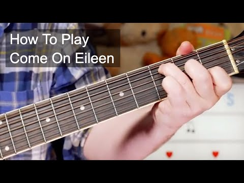 'Come On Eileen' Dexy's Midnight Runners Acoustic Guitar Lesson