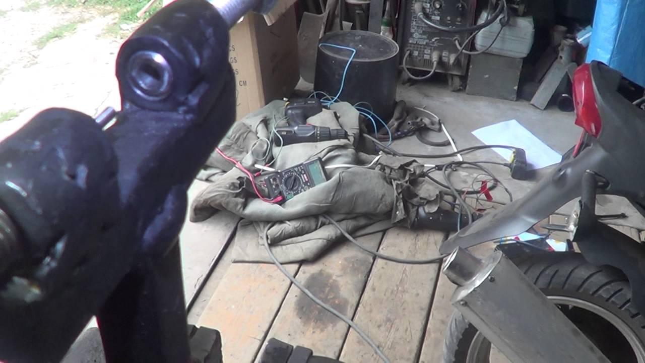 Съемник на скутер своими руками фото 259