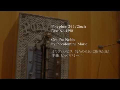 "Polyphon 24 1/2"" Disc No.4390 Ora Pro Nobis"