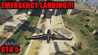 GTA 5 - INSANE LANDING!!!