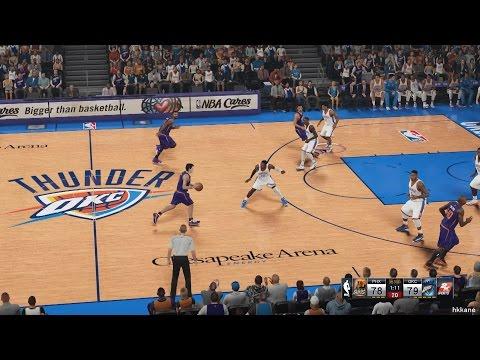 NBA 2K15 Phoenix Suns Vs Oklahoma City Thunder 14-12-2014