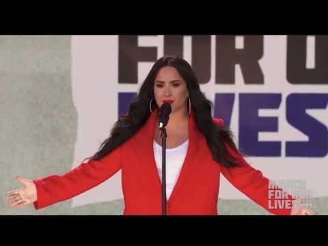 Demi Lovato - Skyscraper (Live at March For Our Lives in Washington D.C.) - March 24th