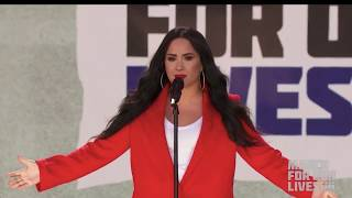 Demi Lovato - Skyscraper (Live at March For Our Lives in Washington D.C.) - March 24th