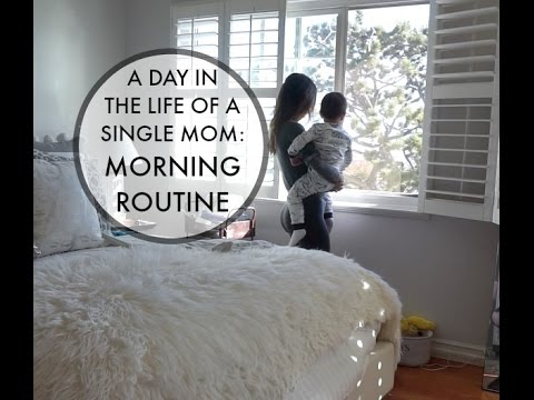 A DAY IN THE LIFE OF A SINGLE MOM | Morning Toddler Routine vlog
