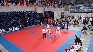 Greece v Bulgaria - Male Adult Team Sparring Final