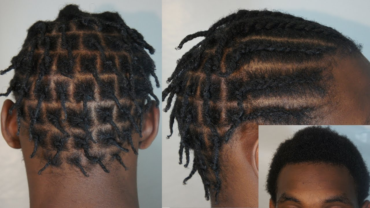 How To Braids Twist On Short Man Hair
