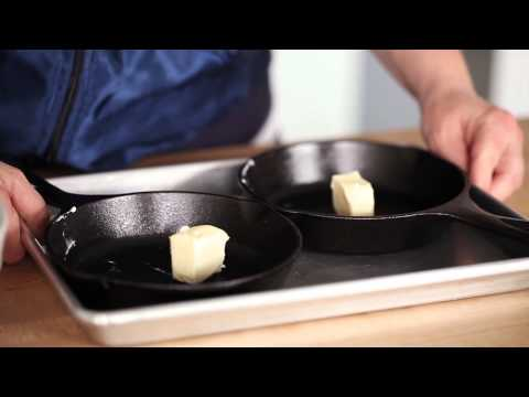 Cast-Iron Pancakes with Ham & Cheese - Freestylin' the #jenisbook