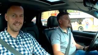 Hyundai IX55 V6 дизель!  Автосалон Boston.  Тест-драйв от Дениса Митюшова и Сергея...