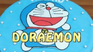 Doraemon Cake! Cara Membuat Kue Ulang Tahun Yang Mudah Tanpa Spuit