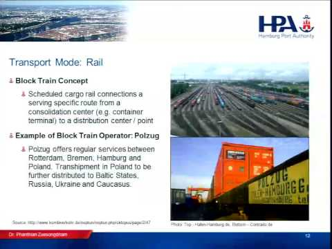 Pilot 1 - Day 1 - Session 2 - Transport Modes; Multimodal Tr
