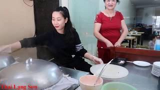 Bánh Cuốn Gia Truyền Bà Loan Ngon Nhất Lạng Sơn Ăn Hoài không ngán I Thai Lạng Sơn