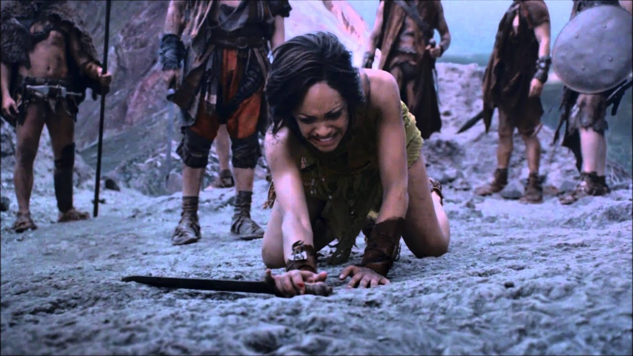 Download Spartacus Vengeance Ep. 10 - Wrath of the Gods - Naevia vs. Ashur