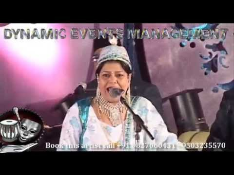 India's Got Talent - Qawwali Female Singer Chanchal Bharti from YouTube · Duration:  2 minutes 9 seconds