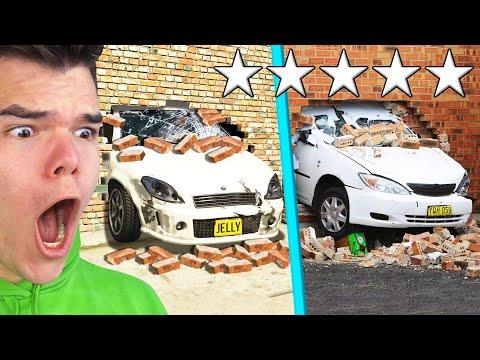 GTA 5 Vs. REAL LIFE CHALLENGE! (Reaction)