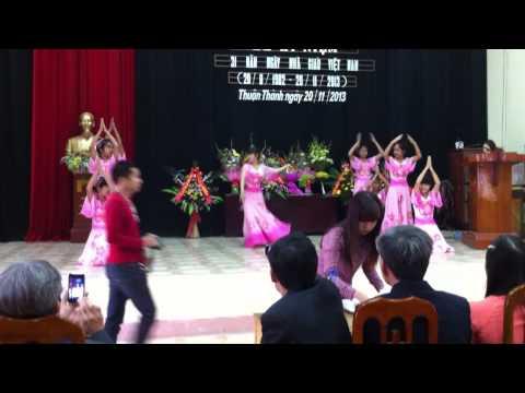 Đất Nước Lời Ru-múa 8a trường THCS Thuận Thành