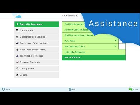 AutoRepair Cloud - Add New Customer, Vehicle and Repair