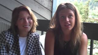 Lea Seydoux and Adele Exarchopoulos Talk Blue is the Warmest Color at Telluride Film Festival