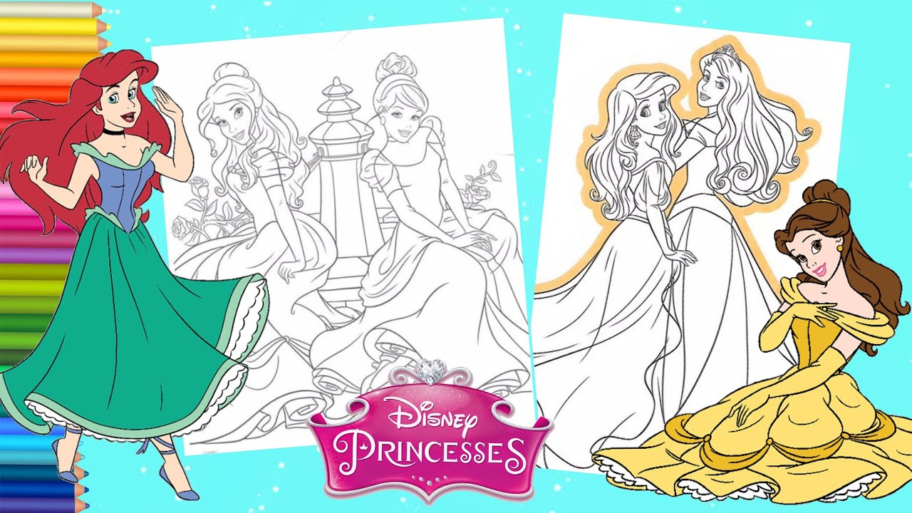 Print princess ariel human coloring pages | Disney princess ... | 720x1280