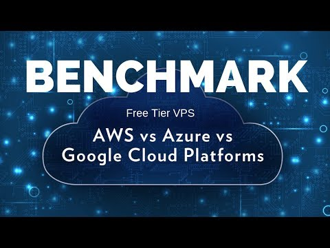 VPS Bench Comparison for AWS,Azure,Google Cloud and Oracle Cloud (Free Tier & Regular Tier)