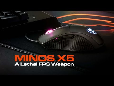 COUGAR Minos X5 - A Lethal FPS Weapon