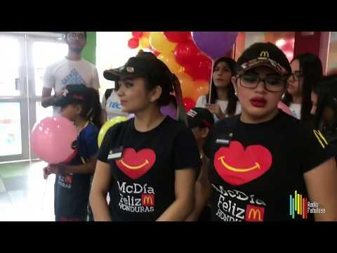 MC Día Feliz en Mc Donald's con Fundación Techo Honduras Video Vlog | RADIO FABULOSA 102.1