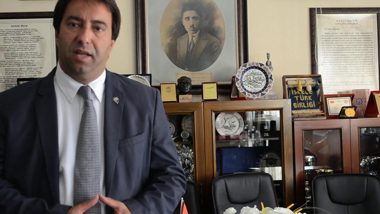 The Turkish Minority in Western Thrace: Ozan Ahmetoglu - YouTube