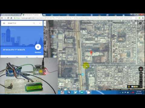 Vehicle Tracking Over Google Maps using Arduino and ESP8266
