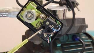 Як регулювати реле тиску на насосній станції