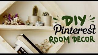 DIY Декор для Дома // Pinterest Inspired Room Decor(Надеюсь наши идеи вдохновят вас на то, чтобы сделать своими руками что-то для вашего пространства. Снимать..., 2016-08-04T05:00:00.000Z)