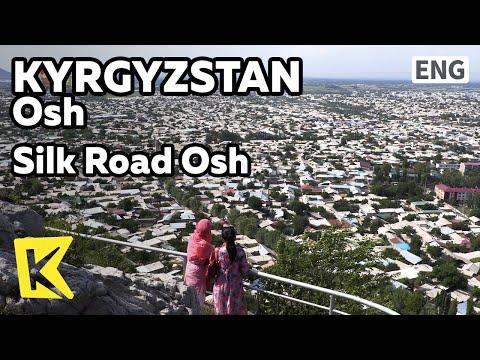 【K】Kyrgyzstan Travel-Osh[키르기스스탄 여행-오시]실크로드의 중심 오시/Silk Road/Uzgen Tower/Islam/Karacan/Tomb