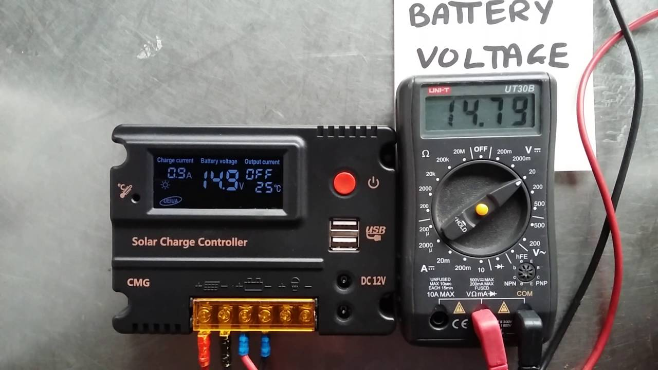 Anself Solar Charge Controller Youtube