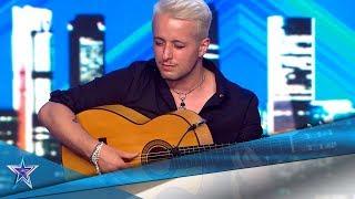 Es BRITÁNICO y siente el FLAMENCO como si fuera ESPAÑOL | Audiciones 9 | Got Talent España 5 (2019)