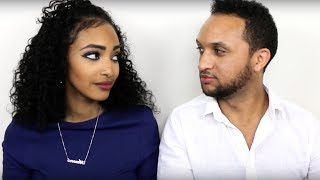 Adorable Sudanese/Ethiopian Couples Practicing Amharic and Arabic Language Challenge