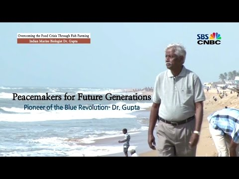 The Indian fisheries scientist using aquaculture as a solution to the food crisis, Dr. M. V. Gupta