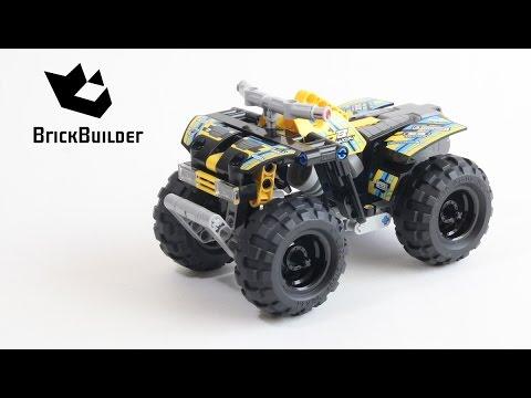 lego technic 42034 quad bike lego speed build youtube. Black Bedroom Furniture Sets. Home Design Ideas