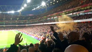 Wolves fans at Arsenal away (11/11/18)