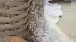 Как шнуровать свадебное платье ! Вариант N2