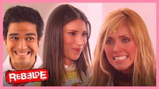 Rebelde: ¡Mía conoce a Sabrina! | Escena C320-C321-C322 | Tlnovelas