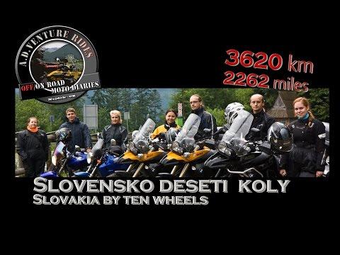 ö#Ò Motorcycle Expedition Slovakia - Full length
