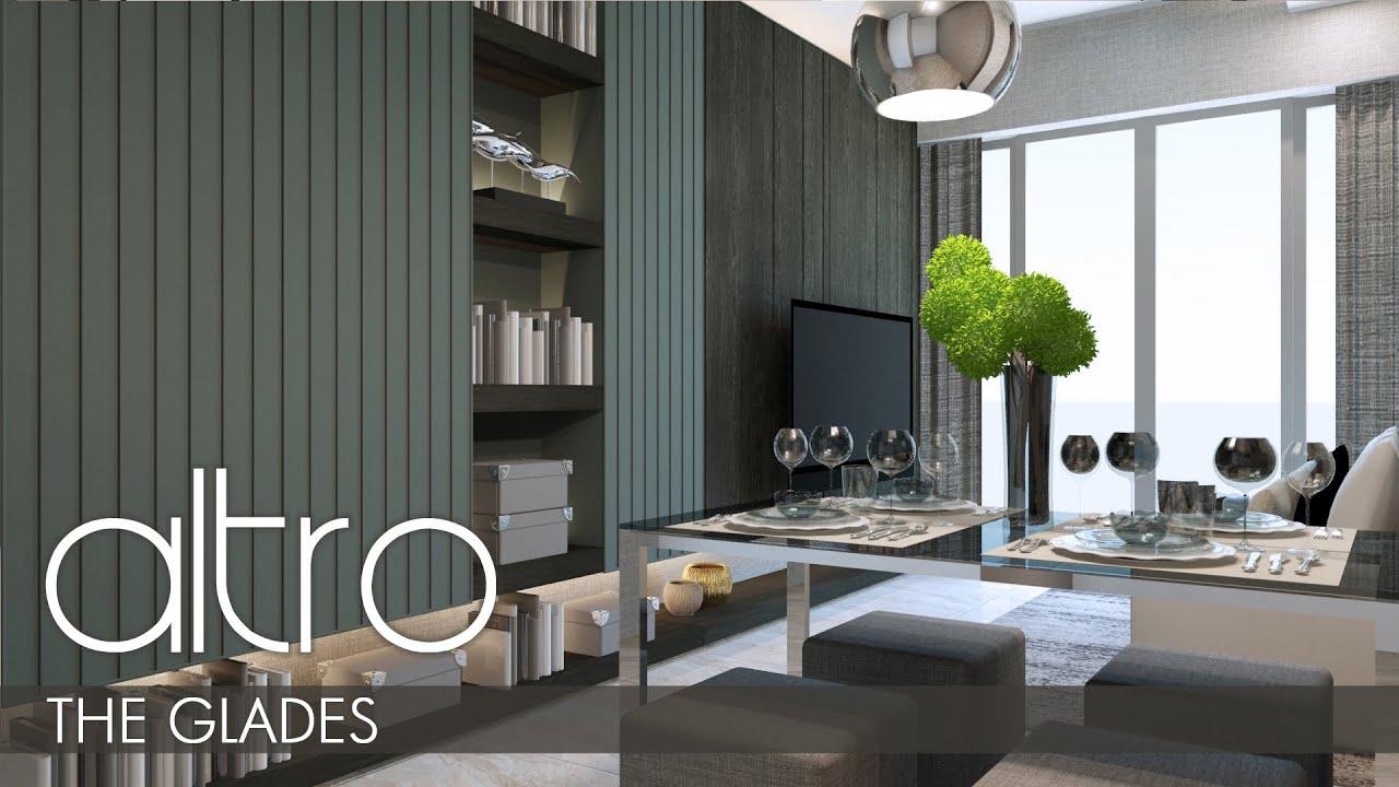 Altro Sg Interior Design For 678 Sqft 2 Bedrooms Condominium The Glades In Singapore Sg Maxhouzez